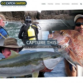 Catch Charters Website