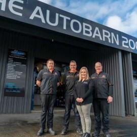 The Auto Barn team
