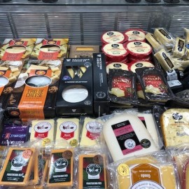 Specialist Cheese in cooler