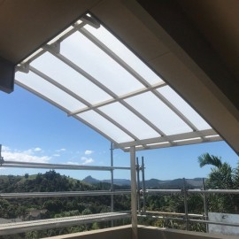Awning roof