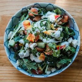 The Saucy Greek Salad