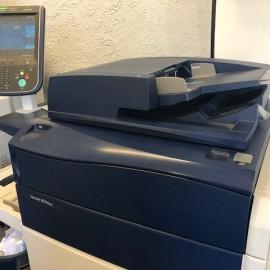 Copier machine in office