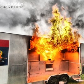 Whitianga Fire Drill by Vaughan Grigsby