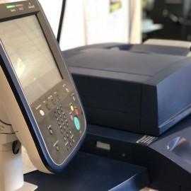 Printer screen