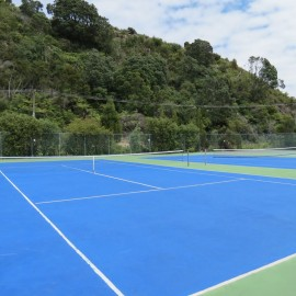 Cooks Beach Tennis Club and Tennis Courts Cooks Beach, Coromandel Peninsula