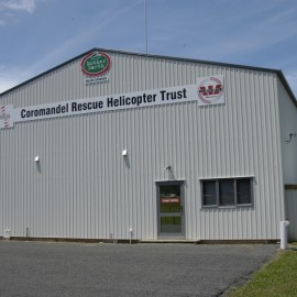 Whitianga Westpac Rescue Helicopter Hanger