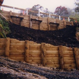 Anchor Tie Back Retaining Wall by Testdrill Whitianga