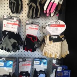 Bike gloves and accessories at the Bike Man Shop Whitianga