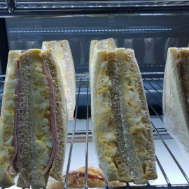Club Sandwiches in cabinet
