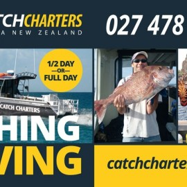 Catch Charters Signs