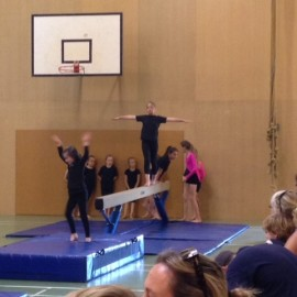 Mercury Bay Gymnastics demonstration