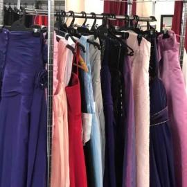 Dresses on rack