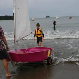 Mercury Bay Boating Club youth sailors