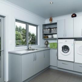 Grey laundry