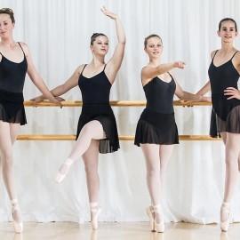 Four Classical Ballet girls