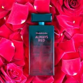 Bottle on rose petals