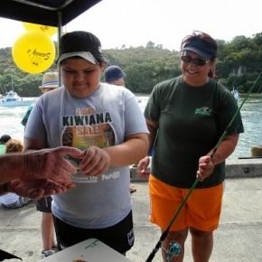 Kids Fishing Competition Whitianga 2013