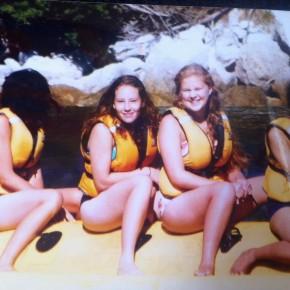 4 women in lifejackets