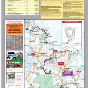 New Zealand Rally Championship Map