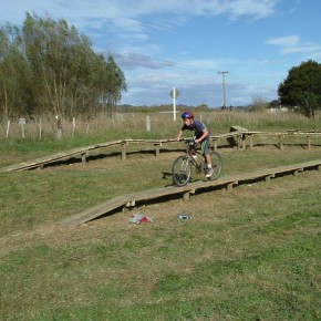 skill zone on whitianga bike park whitianga