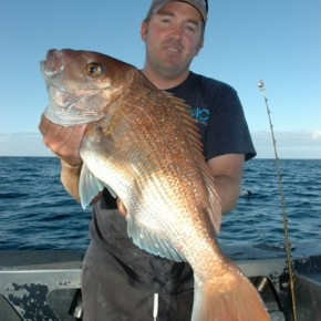 Man with snapper