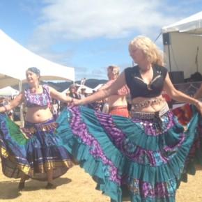Belly Dancers Mercury Bay Seaside Carnival