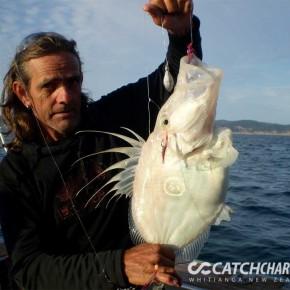 Man holding John Dory Fish