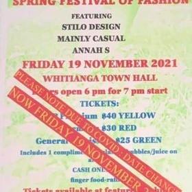 Spring Festival of Fashion