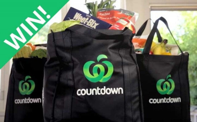 WIN $150 voucher to spend at Countdown!
