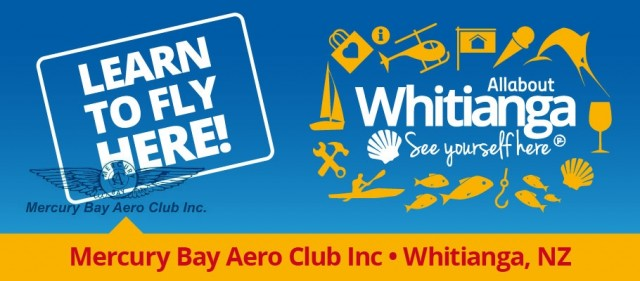 Mercury Bay Aero Club - Learn to Fly