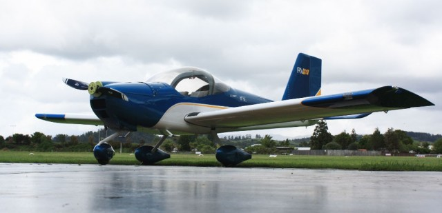 Maiden flight for fourth Mercury Bay Student Aviation Trust built plane