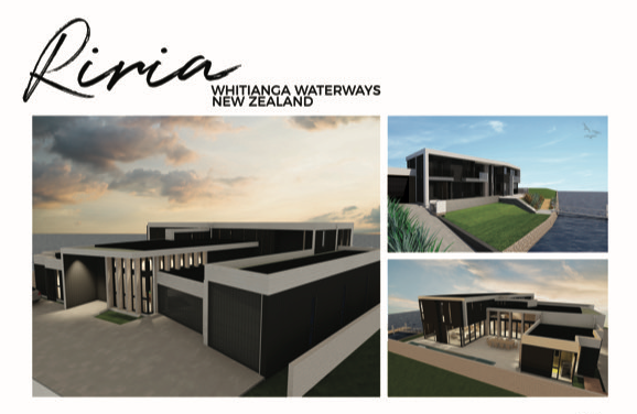 Bay Project Services Ltd Whitianga Waterways Canal front home