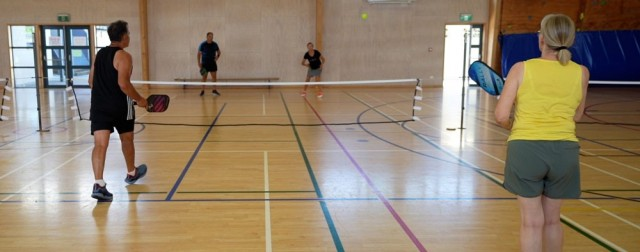 Pickleball attracting keen interest from locals and visitors