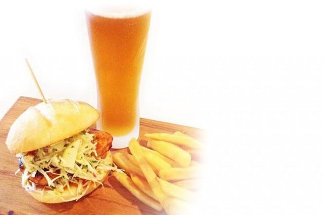 Grilled Buffalo Chicken Burger