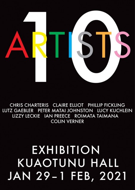 10 Artists Art Exhibition