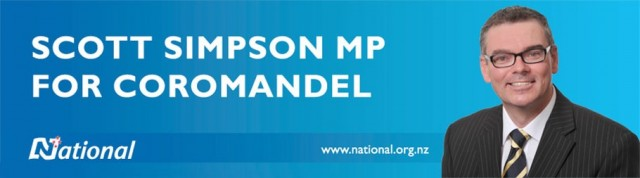Scott Simpson MP for Coromandel