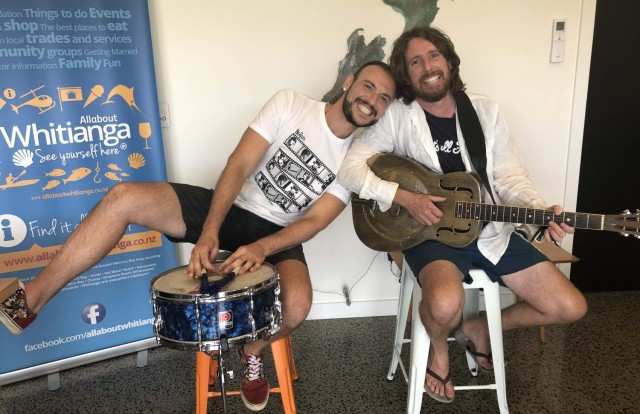 Whiti Fest buskers all set to entertain Whitianga during Waitangi weekend