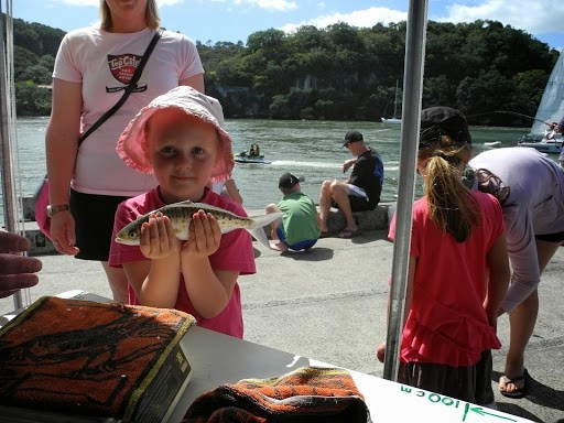 Kids Wharf Fishing Competition