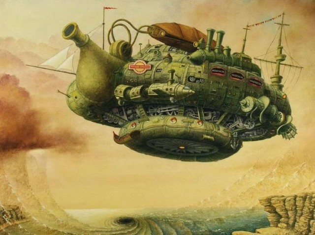 Steampunk Whitianga (The Endeavours Assemblage)