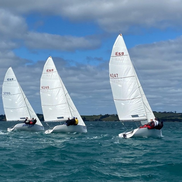 Elliot 5.9 Yachts sailing