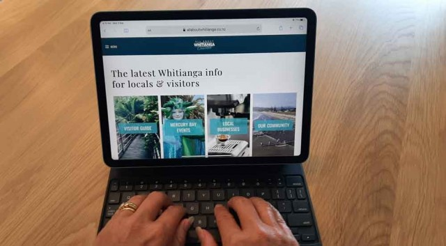 Updating your All About Whitianga business listing page