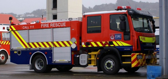 Whitianga Fire Station 591 2010 Iveco Eurocargo ML120E25 Photo by Derek Quinn