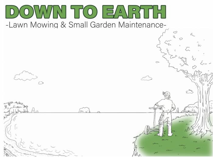 Down To Earth - lawn mowing and small garden maintenance Whitianga and Mercury Bay Area, Coromandel Peninsula