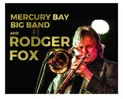 Mercury Bay Big Band and Rodger Fox