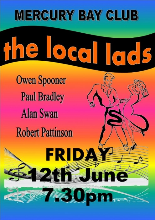 The Local Lads 12th June.