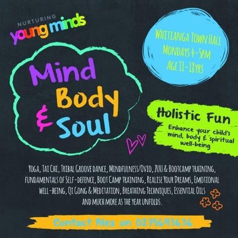 Kids Mind, Body & Soul Free Sessions - Whitianga