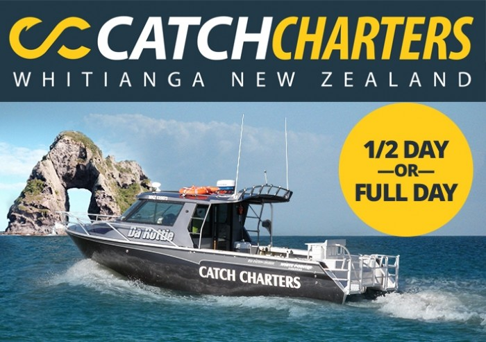 Catch Charters Whitianga New Zealand
