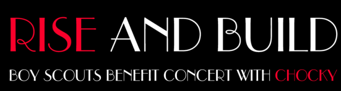 Rise & Build -Benefit concert at No 8 Restaurant