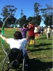 Have a go day Mercury Bay Archers Whitianga