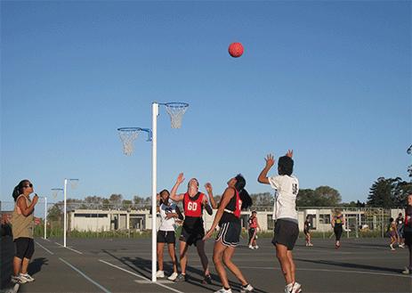 Netball at Mercury Bay Multi Sport Park